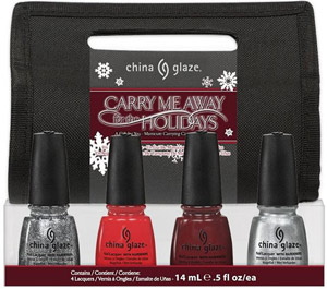 набор лаков China Glaze: Carry Me Away For The Holidays