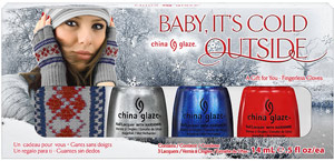 набор лаков China Glaze: Baby, It's Cold Outside