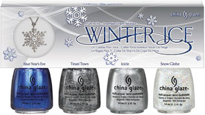 набор лаков China Glaze: Winter Ice