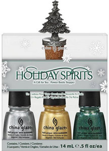 набор лаков China Glaze: Holiday Spirits