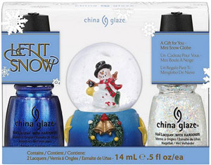 набор лаков China Glaze: Let It Snow