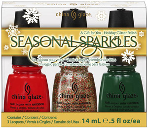 набор лаков China Glaze: Seasonal Sparkles