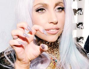 ногти Gaga