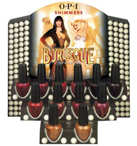 OPI Burlesque collection 2010