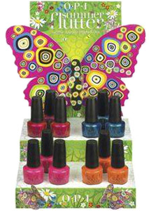 OPI Summer Flutter nail polish collection 2010