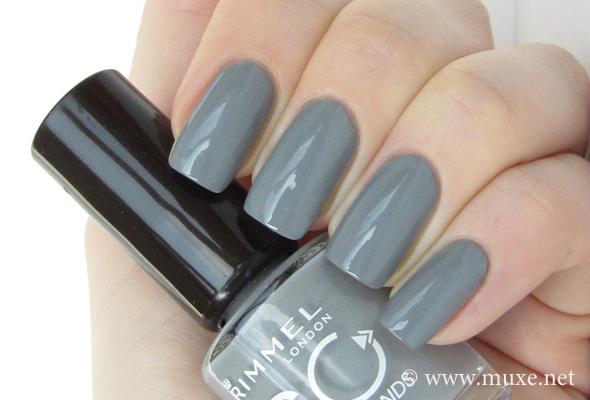 Rimmel Grey Matter 805 свотч