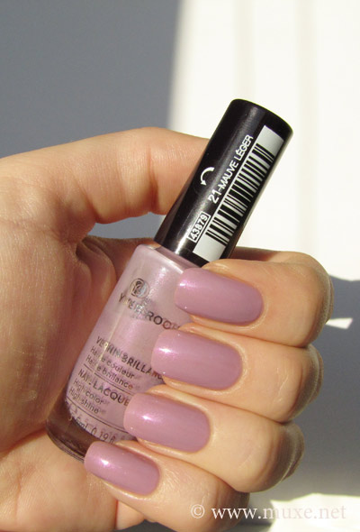 Yves Rocher Mauve Leger swatch