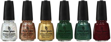 China Glaze Let It Snow Новогодняя коллекция 2011