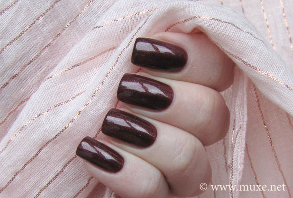 Chocolate Nut Sally Hansen Hard As Nails Xtreme Wear свотч