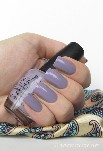 OPI Done Out In Deco NL B71 swatch