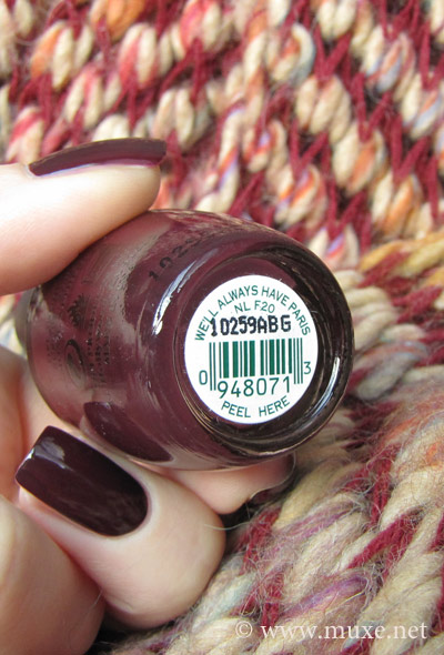 OPI We'll always have Paris NL F20