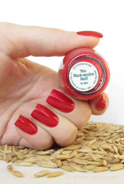 You Rock-apulco Red - OPI свотч