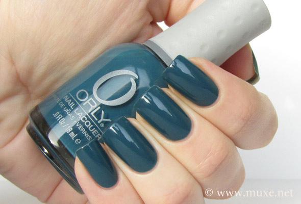 Orly Sapphire Silk 40747 свотч