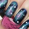 Дизайн ногтей - галактика