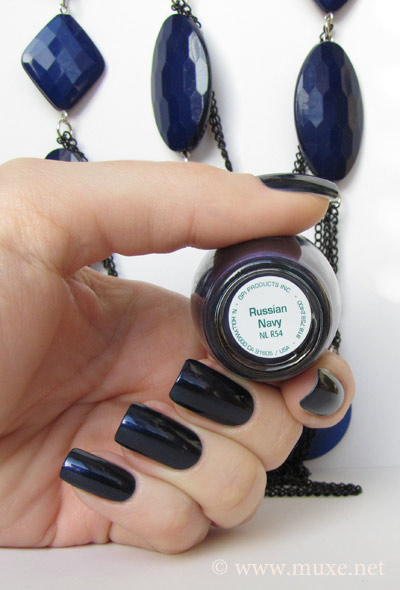 Russian Navy OPI swatch