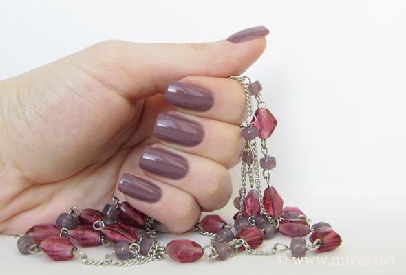 Лиловый лак для ногтей Sophin 144
