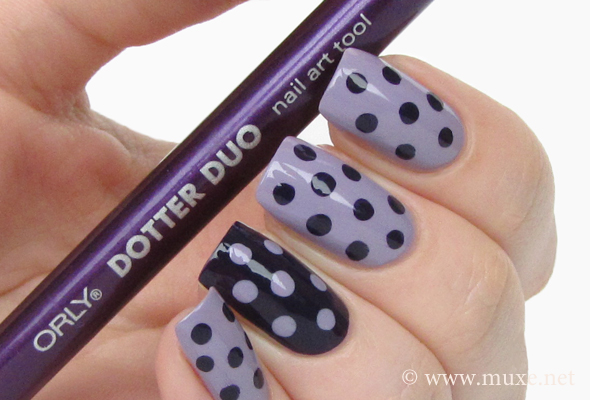 Polka Dots Nail Art