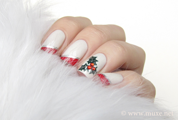 Mistletoe Nails For Christmas 2012 Maris Nail Polish Blog