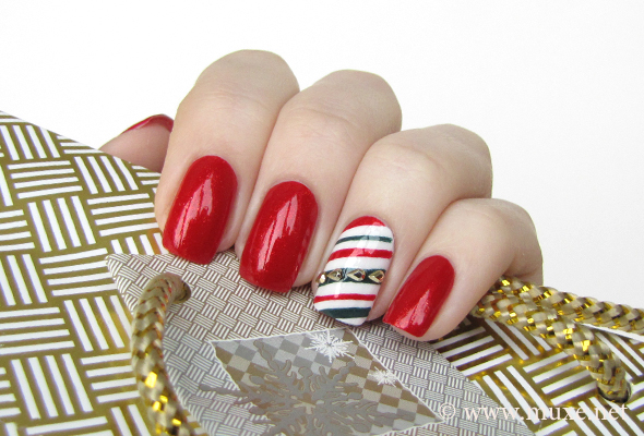 Christmas nail art