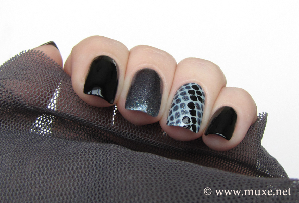 Cult Nails Nevermore black