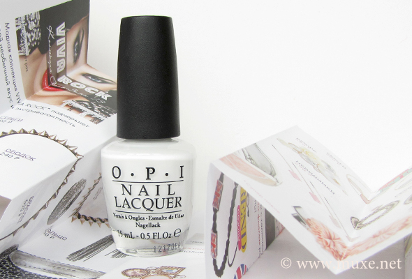 OPI Alpine Snow white nail polish