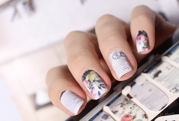 Vintage Nail Art Wraps Maris Nail Polish Blog
