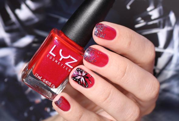 Ballad LYZ Cosmetics swatch